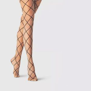 ✨ NWT Faux Fishnet Sheer Nude Pantyhose